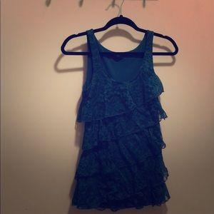Express Lace Dress Tank